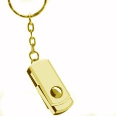 USB Flash Drive Keychain Pen drive 64GB Metal Key Ring Memory USB 2.0 Stick