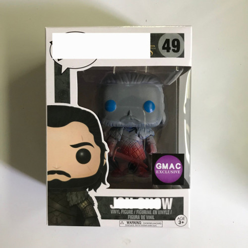 #49 John snow  Action figures toy for collection model
