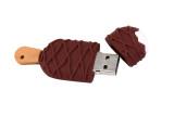 Hot sale high speed USB 3.0 flash drive 4GB 8GB 16GB 32GB 64GB cartoon ice cream U Disk wedding photography gift