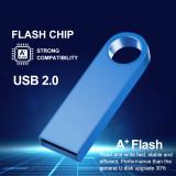 metal memoria usb flash drive 32GB pendrive 128GB 64GB waterproof pen drive 16GB 8GB flash usb 2.0 cle usb stick key Custom logo