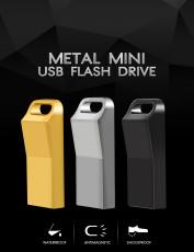 FLASH DRIVE 64GB 32GB 16GB 8GB 128GB pen drive pendrive waterproof metal u disk memoria cel usb stick with king chain