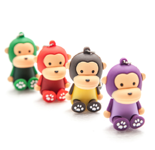 Usb Flash Drive monkey Cartoon 64G 8GB Pen Drive 16GB 32GB Usb Memory Stick gift For PC