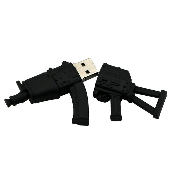 cartoon AK47 gun/grenade toy USB3.0 flash drive fashion personality creative boyfriend cool gift battle 8g16g gadget cute custom
