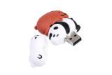 lovely panda pen drive usb 2.0 flash drive disk real capacity gift memory Stick pendrive 4GB 8GB 16GB 32GB 64GB
