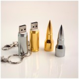Pen drive 8gb! Gold Silver Metal Bullet Shape Genuine USB 2.0 Flash Pen Drive Disk Memory Sticks 4GB 8GB 16GB 32GB 64GB thumb