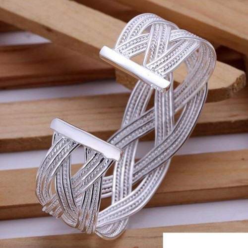 High grade 925 sterling silver Small piece braid jewelry sets DFMSS310 brand new Factory direct sale 925 silver bracelet ring