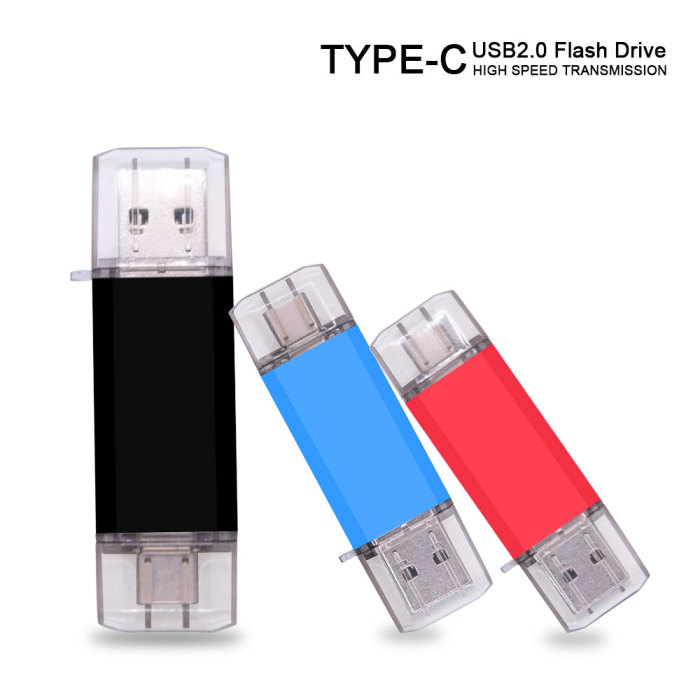 USB flash drive Type-C high Speed drive 64 GB 32 GB 16 GB 8 GB 4GB external storage double Application Micro USB Stick for Gift