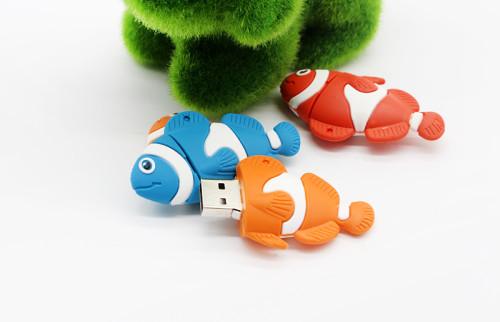 Cartoon Cute Animal Pen Drive Dolphin Fish Shark Turtle Octopus USB Flash Drives Pendrive 4G 8GB 16GB 32GB 64GB Memory USB Stick