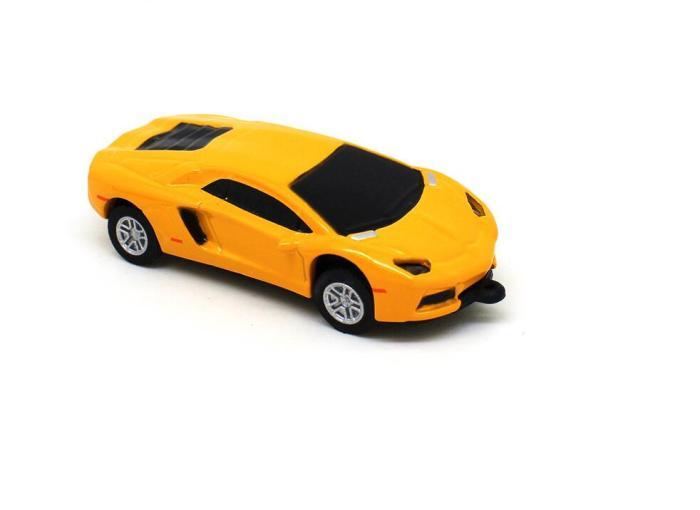 Super Sports Car 128MB USB Flash Drive Mini Pen Drive 32GB 16GB Memory Stick Pen Metal Lamborghini model 4GB/8GB PenDrive 64GB