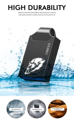 Metal mini 32GB pendrive metal USB flash drive 4gb 8gb 16GB 32GB 64GB 128GB pen drive USB3.0 tiny memory stick U Disk cle usb