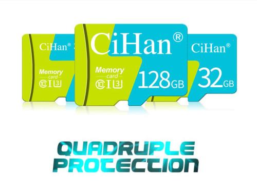 CiHan Micro SD Memory Card High Speed 2GB 4GB 8GB 16GB 32GB 64GB 128GB MicroSD C10 Lot