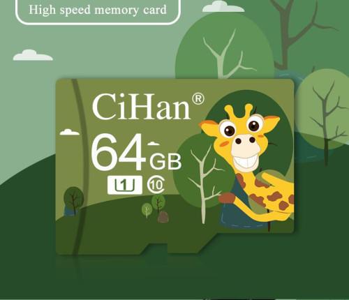 CiHan Micro SD Card 32GB 64GB 128GB TF Class 10 for Smartphones Tablets
