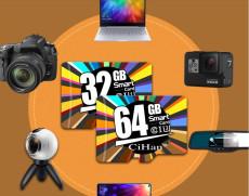 CiHan 64GB Micro SD Memory card Class 10 U1 For Archos 50 Diamond Mobile FHD