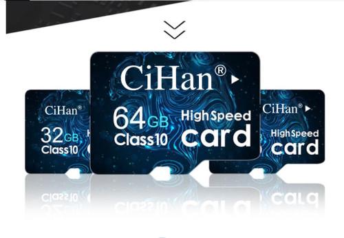 CiHan Micro SD Memory Card High Speed 16GB 32GB 64GB 128GB 256GB With Adapter Class 10