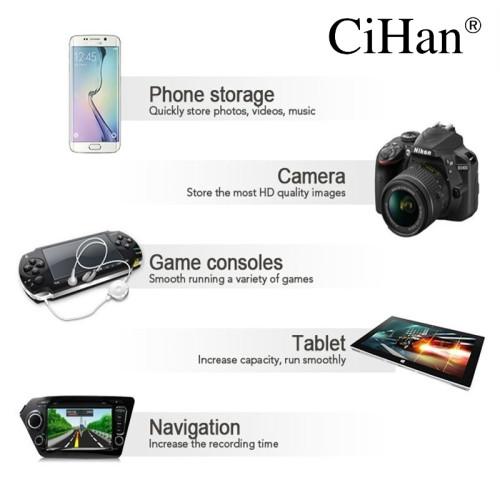 CiHan Micro SD Card 32GB 64GB 128GB Class 10 100MB/s TF Memory card