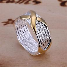 hot sale 10% off 925 silver plated Dichroic X Ring,New arrival product,very fashion and popular 925 silver RING,DSSR-013