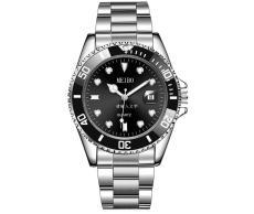 cwp montre de luxe mens watches 40mm stainless steel sapphire super luminous waterproof Wristwatches
