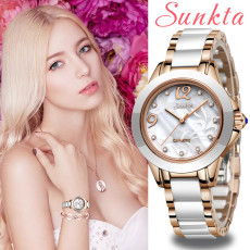 Rose Gold Wristwatches Women Quartz Watches Ladies Top Luxury Female Wrist Watch Girl Clock Wife gift Zegarek Damski