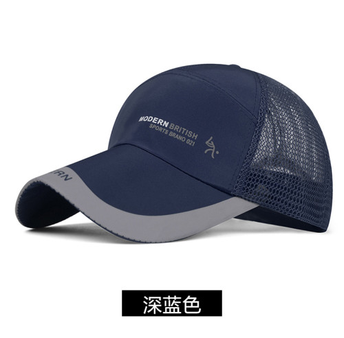 men's summer Hat Travel mesh sun caps Outdoor sports fashion hats 10pcs