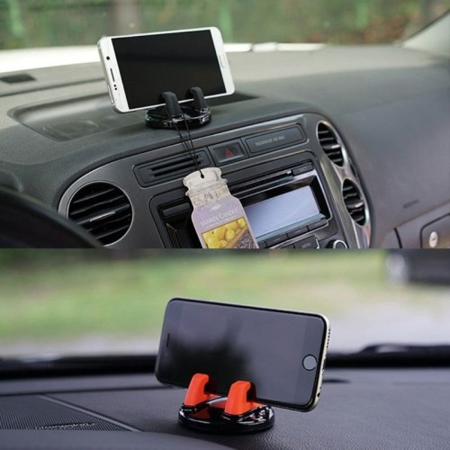 Car Phone Holder Stands Rotatable Support Anti Slip Mobile 360 Degree Mount Dashboard GPS Navigation Universal Auto Accessories POE