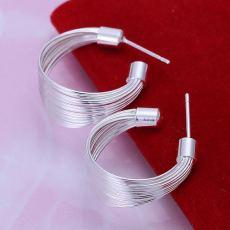 Gorgeous design elegant charm fashion women 925 silver stud Earring Jewelry  lady studs wedding earrings