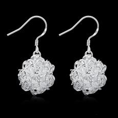 Tennis Earrings DFMSE076,women's 925 silver Dangle Chandelier earrings