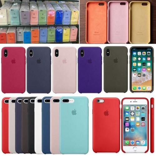 iPhone 7 Plus 8 Plus Original Liquid Silicone Case Genuine OEM Cover