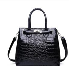 Fashion Crocodile Pattern Ladies Buckle Handbags Luxury Handbag Women Bags Designer Large Capacity Women Shoulder Briefcase