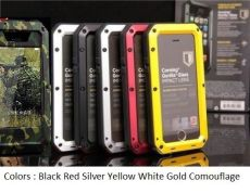 Extreme Case Gorilla Glass Metal full Cover For iphone X 8 7 6 5