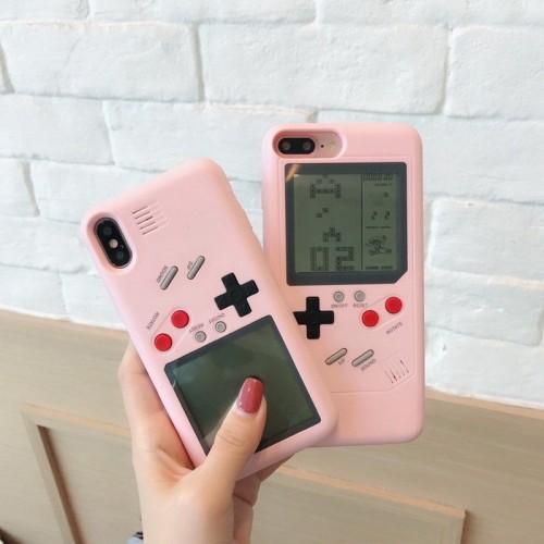 Gameboy Tetris Game Player iPhone 7 Plus iPhone X 8 6 6S Phone Case