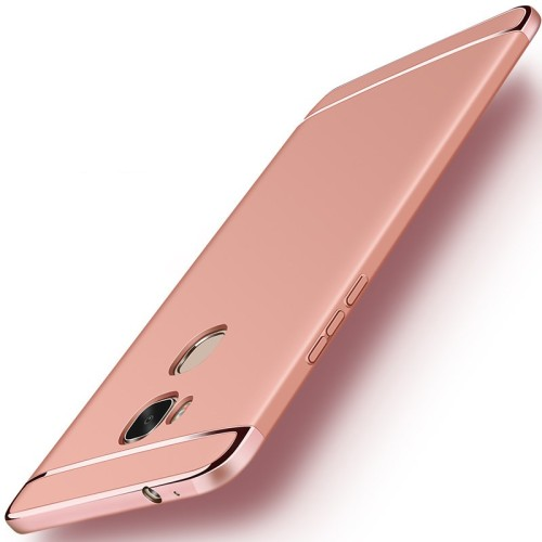 3 in 1 Case Plating Scrub Ultra Thin Matte Hard Back Cover for iPhone