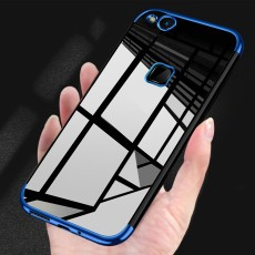 Case Thin Soft Plating Clear TPU Transparent Back Covers for iiPhone