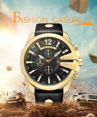 CURREN Men's Quartz Wristwatches Male Clock Top Brand Luxury Reloj Hombres Leather Wrist Watches with Calendar