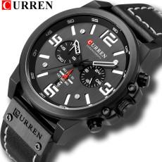 Newest Men Watches CURREN Top Brand Luxury Quartz Mens Wristwatches Leather Military Date Male Clock Relogio Masculino