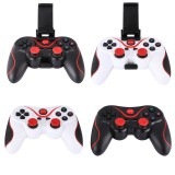 SALE T3 Wireless Gamepad Gaming Remote Bluetooth Controller Joystick BT 3.0 for Android Smartphone Tablet PC TV Box free Phone Stand