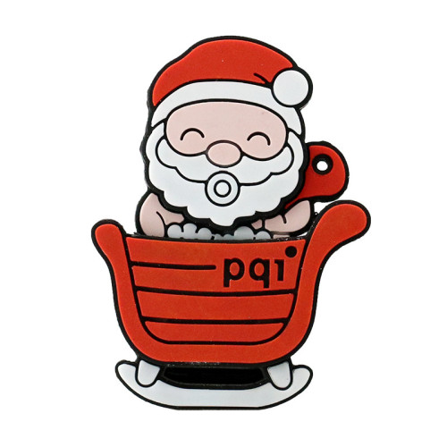 Christmas Deer USB Flash Drive 128GB Pen Drive Cartoon Snowman Christmas Tree Gifts 4GB 8GB 16GB 32GB 64GB Santa Claus Pendrive
