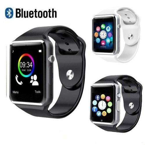 Waterproof A1 Smart Watch Bluetooth GSM Sim Phone Pedometer Sedentary Remind Sleep Monitor Remote Camera For Android/iOS