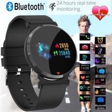 Smart Bluetooth Watch Men Fitness Tracker HD IPS Color Screen Smart Wristband Heart Rate Blood Pressure Blood Oxygen Monitor Waterproof Smart Bracelet