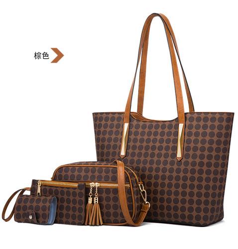HBP totes tote bag handbags bags luggage shoulder bags fashion PU shopping bag women handbags totes tote bags Beach bag 4p