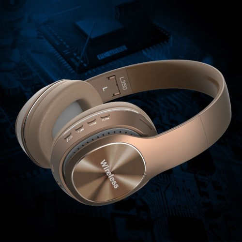 Bluetooth Headphones Wireless Bluetooth 5.0 Heavy Bass Stereo Folding Auriculares with Mic Support TF SD Card Stereo Sports Headphones Game Competitive Headphones