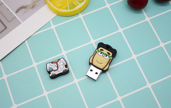 Cartoon Doctor Nurse Teeth Lung USB Flash Drive 16G 32GB 64GB Hospital worker usb флэш-накопители usb 2.0 pendrive cle usb stick