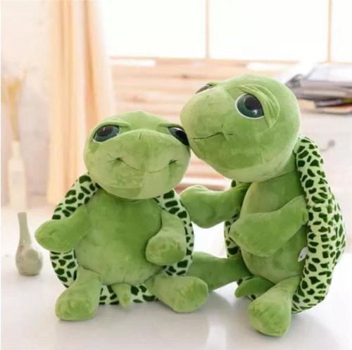 wholesale 20cm stuffed animals Super Green Big Eyes Tortoise Turtle Animal Kids Baby Birthday Christmas Toy Gift