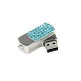 Business USB Pendrive Crystal Pendant Flash Drive 256G 128GB 64GB 32GB 16GB 8GB Cle USB Flash Drive Diamond USB 2.0 Memory Stic