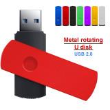 metal USB Flash Drive 128GB 64GB 32GB high speed 16GB 8GB 4GB memory Flash USB Stick 256gb PenDrive
