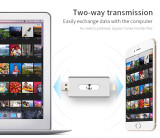 FlashDrive 128GB 64GB 32gb 16gbPen drive HD external storage memory stick For iphone8 8 Plus 7 7Plus ipad Pen drive