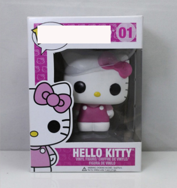 #01 Hello  kitty Action figures toy for collection model