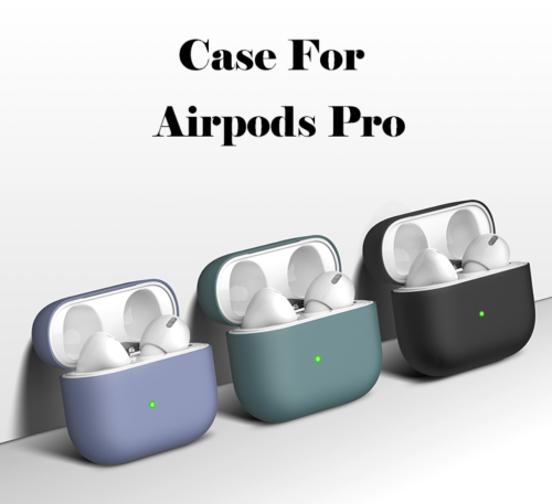 Case For Apple Airpods Pro Silicone Shockproof Slim Skin Earphones Cute Cover