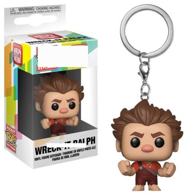 Wreck Pocket keychain pocket Toys Movie Action Figure