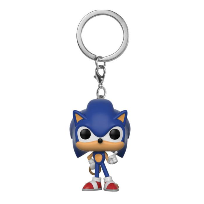Sonic  Pocket keychain pocket Toys Movie Action Figure