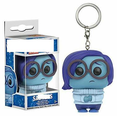 sadness pocket keychain pocket Toys Movie Action Figure